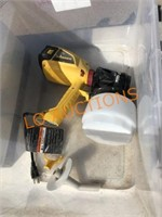 Wagner Paint Sprayer in Tub
