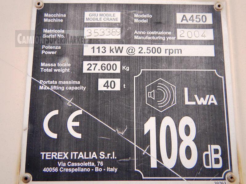 TEREX|BENDINI A450 Usato 2004