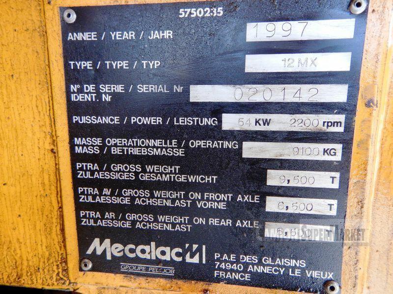 Mecalac 12MX Uzywany 1997