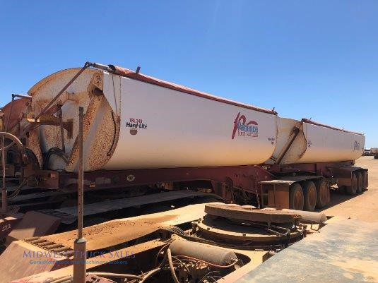 2010 Roadwest Side Tipper Midwest Truck Sales - Trailers for Sale
