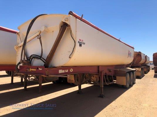 2010 Roadwest Side Tipper Trailer Midwest Truck Sales - Trailers for Sale