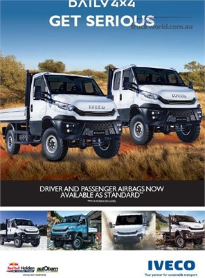 2018 Iveco Daily 55s17 4x4 - Truckworld.com.au - Light Commercial for Sale