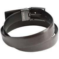 Steve Madden Men's 40mm Bridle Belt, Black, 38