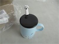 Angelice Home Cute Kitty Mug, Funny Ceramic