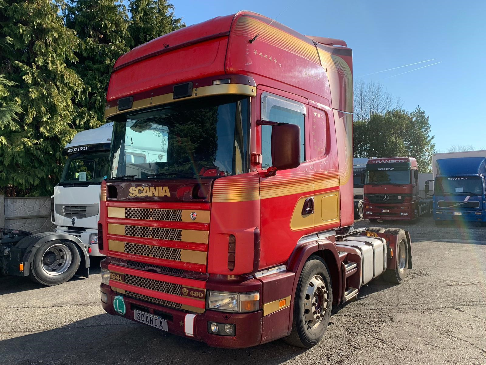Scania R164L480 Second-hand