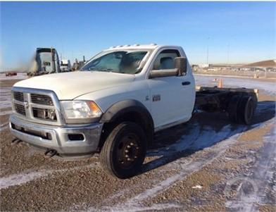 DODGE RAM 5500 Medium Duty Trucks Online Auction Results - 22