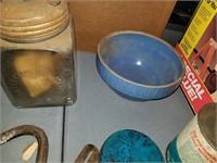 Uhl crock bowl