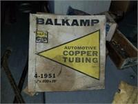 Balkamp Cooper tubing