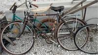 old bikes /garden plow