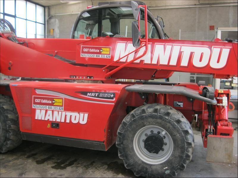 Manitou MRT2150 #Used 2014 Lombardia