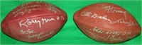2 SIGNED WILSON NATIONAL FOOTBALL LEAGUE