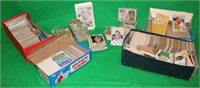 LARGE LOT OF OVER 500 1950'S TO 1980'S BASEBALL
