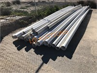 28pc 20FT 4inch White PVC Pipes