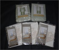 New! Window Valances, Scarves, & Sheers