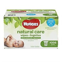 HUGGIES NATURAL CARE WIPES 1056 WIPES