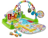 FISHER PRICE DELUXE KICK N PLAY PIANO GYM AND