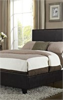 STANDARD FURNITURE BROWN FOOTBOARD