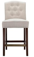 MADISON PARK MARIAN TUFTED COUNTER STOOL