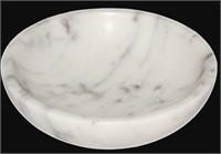 WHITE MARBLE KEY FINGER BOWL