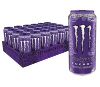 MONSTER ENERGY ULTRA VIOLET PACK OF 24