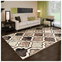 SUPERIOR MODERN VIKING COLLECTION AREA RUG 4'X6'
