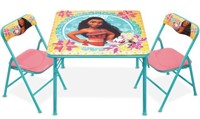 MOANA TABLE AND CHAIR SET