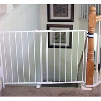 """REGALO TOP OF STAIRS 28"""" TO 43.5"""" WIDE 30.5"""""""