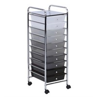 HONEY CAN DO 10 DRAWER ROLLING STORAGE CART