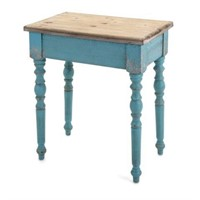 CLAREMORE WOODEN ACCENT TABLE,