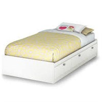 SOUTH SHORE TWIN MATES BED (NOT ASSEMBLED)