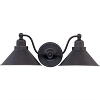 NUVO TWO LIGHT SCONCE (BULB NOT INCLUDED))
