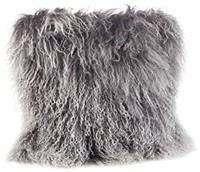 MONGOLIAM LAMB FUR PILLOW (2 PCS)