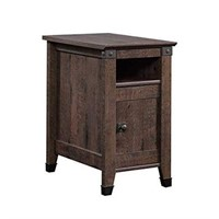 SAUDER CARSON FORGE SIDE TABLE (NOT ASSEMBLED)