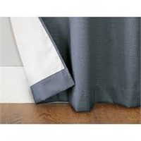 SET OF 5 THERMAL INSULATED CURTAIN PANELS NO SIZE