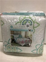 3PC QUILT SET DOUBLE/QUEEN