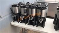 8pc Bunn Coffee Pots
