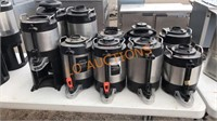 10pc Bunn Coffee Pots