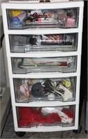 Crafting Supplies & Organizer