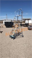6FT Rolling Ladder Stand