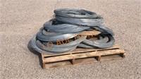 Pallet of Galvanized Wire Rolls