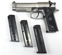 Beretta 92FS 9mm Parabellum Stainless Steel Pistol