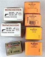 225 Rounds 38 Special Caliber Ammunition