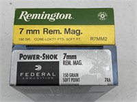 40 Rounds 7mm Magnum Ammunition