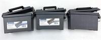 3pc Plastic 6-8 Box Standard Ammo Box