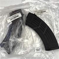 2pc AK-47 7.63 x 39mm Magazine