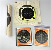 ~75  paper, stick on targets