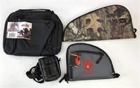 4pc  handgun cases