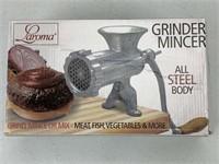 All Steel Body Handcrank Meat Grinder Mincer