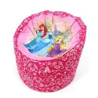 Disney Princess Bean Bag Cover - Drum Shape