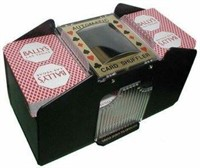 Fat Cat Automatic 4-Deck Card Shuffler